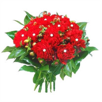Flowers- carnations.